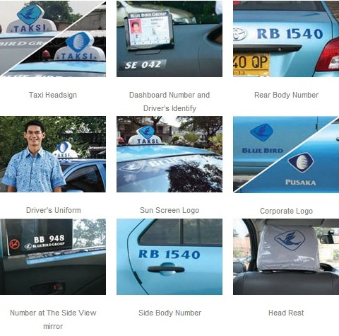 how to tell if its blue bird taxi in bali
